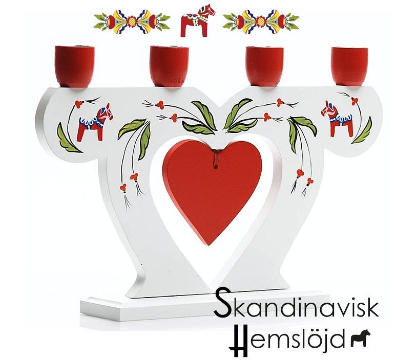 Schwedische Leuchter / Lampen