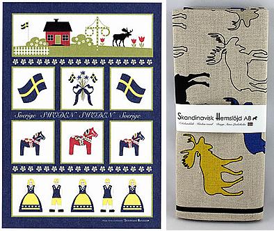 Skandinavisk Hemslöjd Textilien