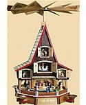 Neues Adventshaus, 62 cm h