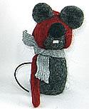 Schwedische Maus Little Brie, H 12 cm