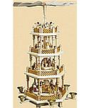 Pyramide Christi Geburt, Höhe 54 cm
