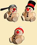 Cool Man Junior, 6 cm, 3 snowmen