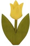 1 Nedholm Tulpe gelb, Blätter hellgrün
