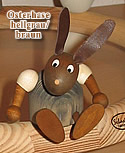 1 Easter hare, lightgrey/brown