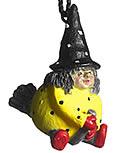 Nääsgränsgarden hängende Hexe gelb, H 4 cm