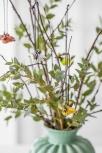 Nääsgränsgarden hängender Hahn Roffe orange, H 3 cm