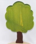 Nordika große Eiche, 21 cm, grün