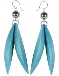Aarikka Jalava boucles doreille bleu/turquoise