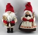 Butticki Santa Frau mit Geschenk, 14 cm