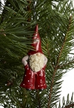 Nääsgränsgården hanging Santa Elmer & Max ornament, h 7,5 cm (copy) (copy)
