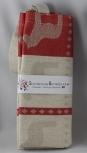Skandinavisk Hemslöjd schwedische Textil-Tasche Dalapferd rot, 35x46 cm