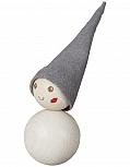 Aarikka Helistäjä Pakkanen MAGNET white with bell