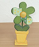 Talvel Blüte grün im Topf klein, H 16 cm