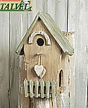 Talvel Vogelhaus Gartenzaun