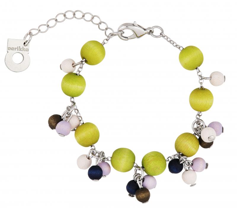 Aarikka Herukka  bracelet summer blueberry Length adjustable 17-22 cm