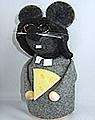 Schwedische Maus Priest Cheesus, H 19 cm