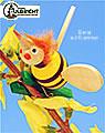 Biene auf Klammer