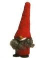 Sebastian design gnome Tore red with beard
