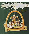 Pyramide Christi Geburt, H 40 cm