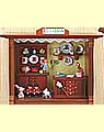 Wandbild Spielzeugladen, 20x15 cm