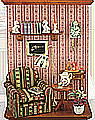 Picture wall display Reading Room, 7 3/4 inch