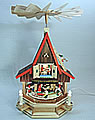 Dwarf-House small, electrical 53 cm h