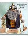 Räuchermann Kantenhocker Melchior, 18 cm