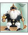 Räuchermann Kantenhocker Balthasar, 17 cm