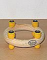 Mini-Kranz ca. 11,5 cm, gelb