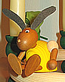 1 Easter Rabbit, yellow