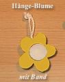 1 kleine Hängeblumen, gelb