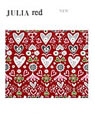 Bengt & Lotta table mat JULIA red