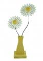 Nedholm Gerberas in vase yellow/white