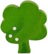 1 Holzstecker Baum mit Früchten, hellgrün