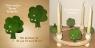 1 wood plug tree, lightgreen