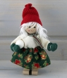 Butticki Santa with snowball , 14 cm