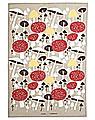 Almedahls tea towel I svamskogen beige, 47x70 cm