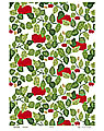Almedahls tea towel  Apple, 47x70 cm
