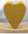 1 big swedish heart, yellow