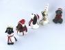 Luciazug Weihnachtshunde, 6 cm