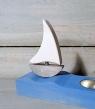 Talvel Stecker Segelschiff grau