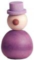 1 großer Kugelwichtel HipHop violet