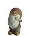 Nääsgränsgården Gnome Ebbe pondering, 10 cm