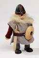 Big Viking with sword and shield, 18 cm