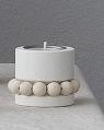 Aarikka Prinsessa Kerzenhalter, weiß, H 5 cm