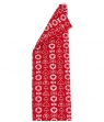 Bengt & Lotta towel HEARTS, red