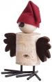 Sebastian design großer Weihnachts-Vogel, H 19 cm