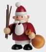 KWO Räuchermann Weihnachtsmann mini, h 10 cm