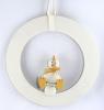 Deko - Ring weiß, 16 cm - ohne Küken