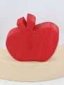 1 Nedholm wood plug apple, red